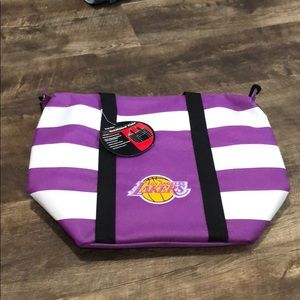 Los Angeles lakers insulated tote